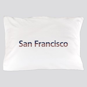 San Francisco Stars and Stripes Pillow Case