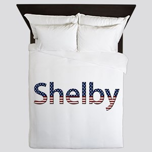 Shelby Stars and Stripes Queen Duvet