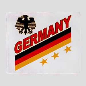 Germany World Cup Soccer Throw Blanket