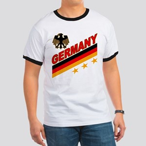 Germany World Cup Soccer Ringer T