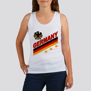 Germany World Cup Soccer Women's Tank Top