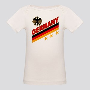 Germany World Cup Soccer Organic Baby T-Shirt