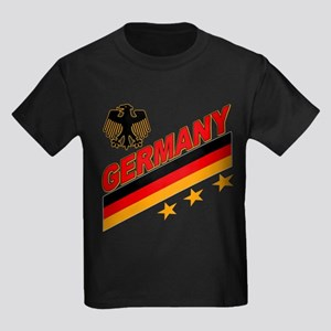 Germany World Cup Soccer Kids Dark T-Shirt