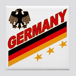 Germany World Cup Soccer Tile Coaster