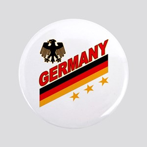 """Germany World Cup Soccer 3.5"""" Button"""