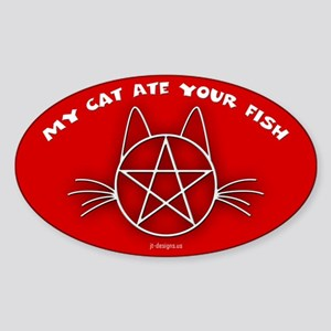 MCAYF (Red) - Oval Sticker