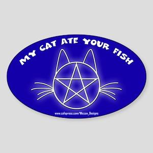 MCAYF (Blue) - Oval Sticker