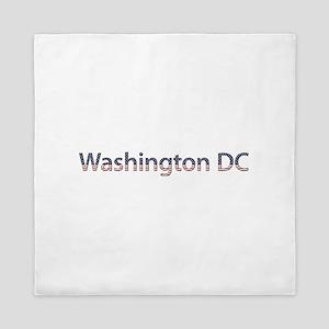Washington DC Stars and Stripes Queen Duvet