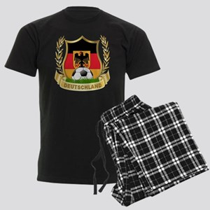 Germany World Cup Soccer Men's Dark Pajamas