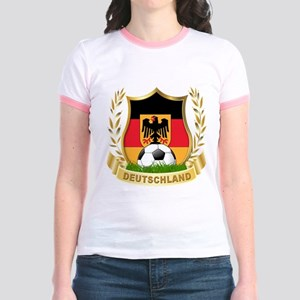 Germany World Cup Soccer Jr. Ringer T-Shirt