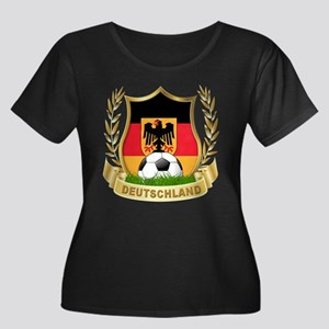 Germany World Cup Soccer Women's Plus Size Scoop N