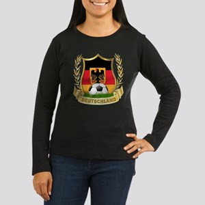 Germany World Cup Soccer Women's Long Sleeve Dark