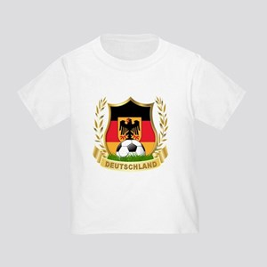 Germany World Cup Soccer Toddler T-Shirt