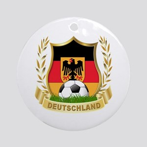 Germany World Cup Soccer Ornament (Round)