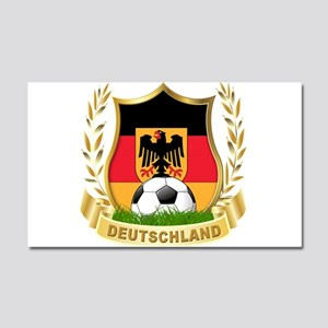 Germany World Cup Soccer Car Magnet 20 x 12