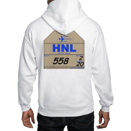 HNL Honolulu, Hawaii Airport Hooded Sweatshirt