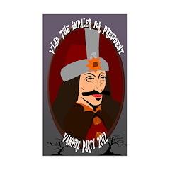 Vlad the Impaler for President Bumper Decal