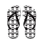 Cat Paw Prints (FFS) Flip Flops