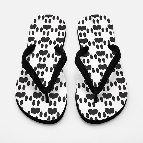 Cat Paw Prints (FFS) Flip Flops