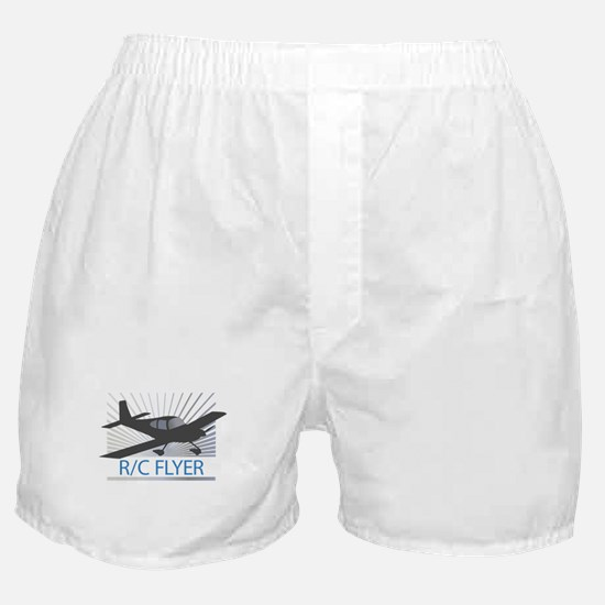 RC Flyer Low Wing Airplane Boxer Shorts