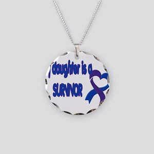 Daughter Pediatric Stroke Necklace Circle Charm