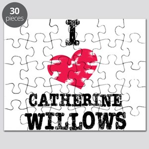 vintage I heart Catherine Willows Puzzle