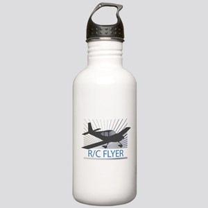RC Flyer Low Wing Airplane Stainless Water Bottle