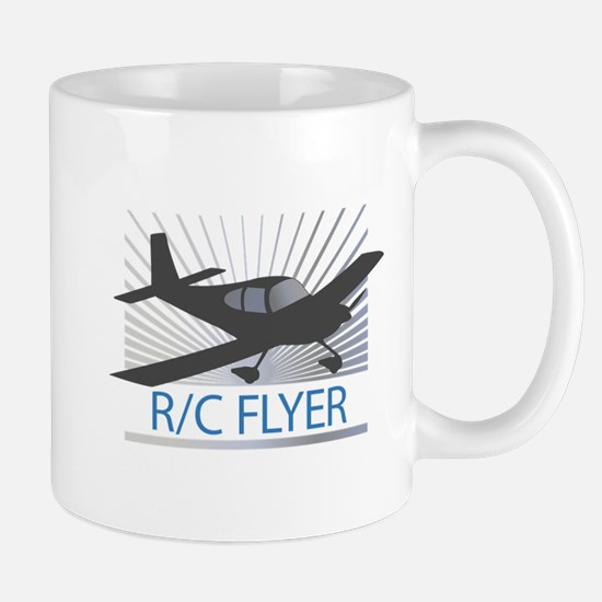 RC Flyer Low Wing Airplane Mug