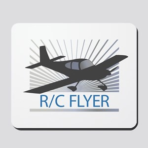RC Flyer Low Wing Airplane Mousepad