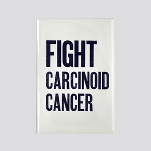 Fight Carcinoid Cancer Rectangle Magnet