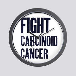 Fight Carcinoid Cancer Wall Clock