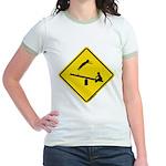 TeeterTotterSign_FV Jr. Ringer T-Shirt