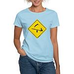 TeeterTotterSign_FV Women's Light T-Shirt