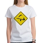 TeeterTotterSign_FV Women's T-Shirt
