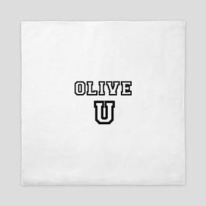 Olive U Queen Duvet