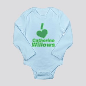 I heart Catherine Willows 3 Long Sleeve Infant