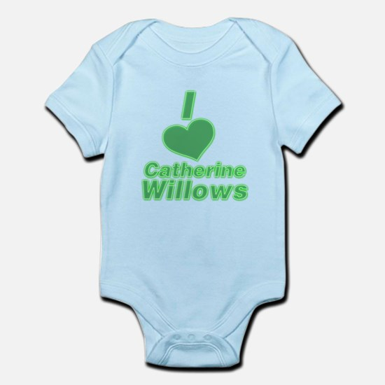 I heart Catherine Willows 3.png Infant Bodysuit