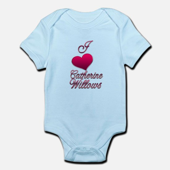 I heart Catherine Willows4.png Infant Bodysuit