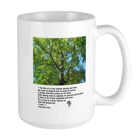 The Life Of A Tree Large Mug