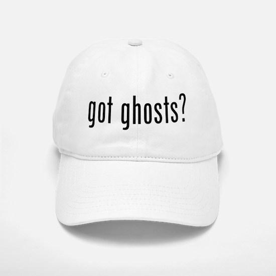 got ghosts Baseball Baseball Cap