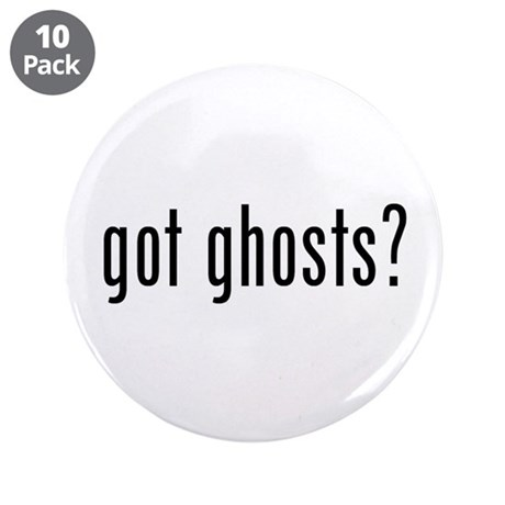 "got ghosts 3.5"" Button (10 pack)"