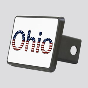 Ohio Stars and Stripes Rectangular Hitch Cover