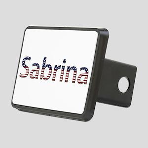 Sabrina Stars and Stripes Rectangular Hitch Cover