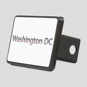 Washington DC Stars and Stripes Rectangular Hitch
