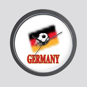 Germany World Cup Soccer Wall Clock