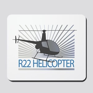 Aircraft R22 Helicopter Mousepad