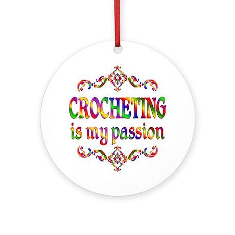 Crocheting Passion Ornament (Round)