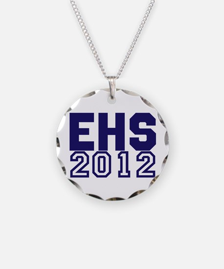 2012 Graduation Necklace Circle Charm