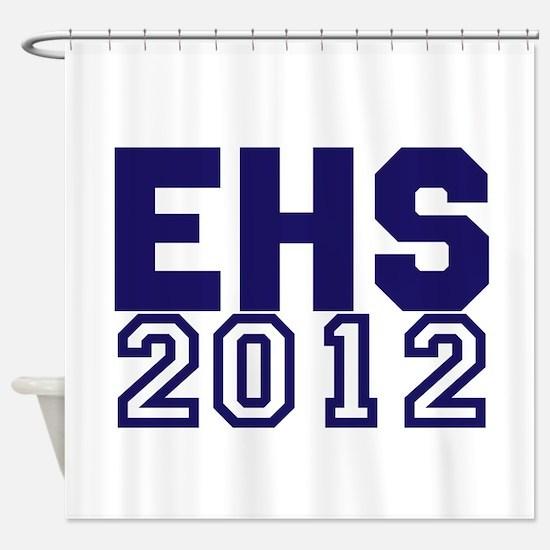 2012 Graduation Shower Curtain