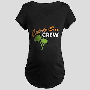 cul-de-sac crew Maternity Dark T-Shirt